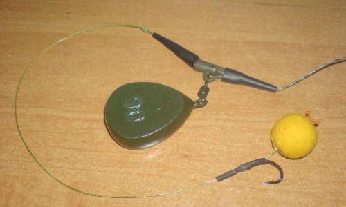 Оснастка для ловли карпа на бойлы