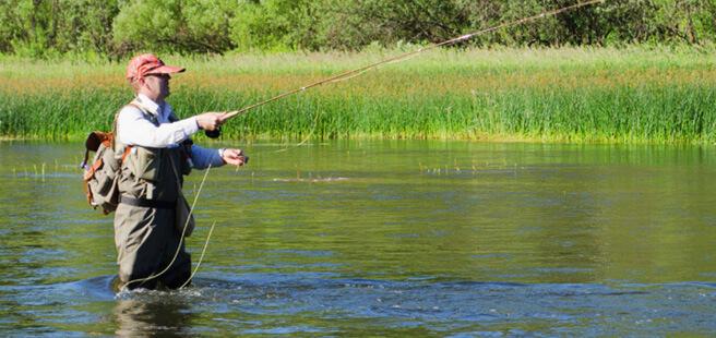 Рыбалка в Химках
