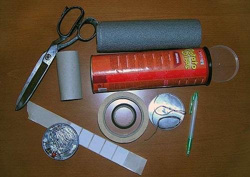 Материалы, необходимые для изготовления: