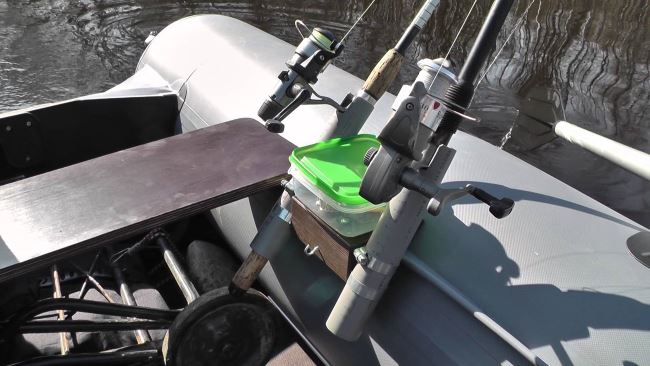 Держатели для удочки на лодку