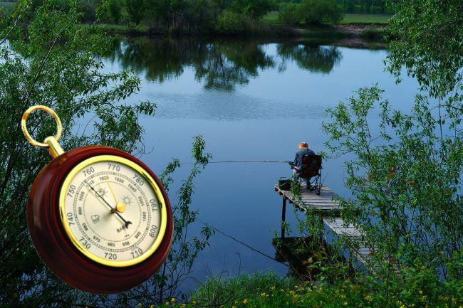 Лучшее давление для летней ловли