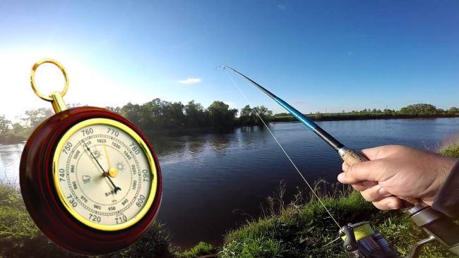 Какое давление должно быть для ловли рыбы весной