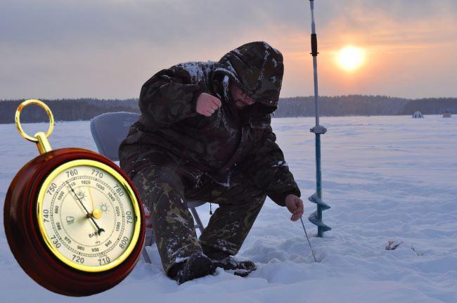 Какое атмосферное давление считается нормальным для ловли рыбы весной