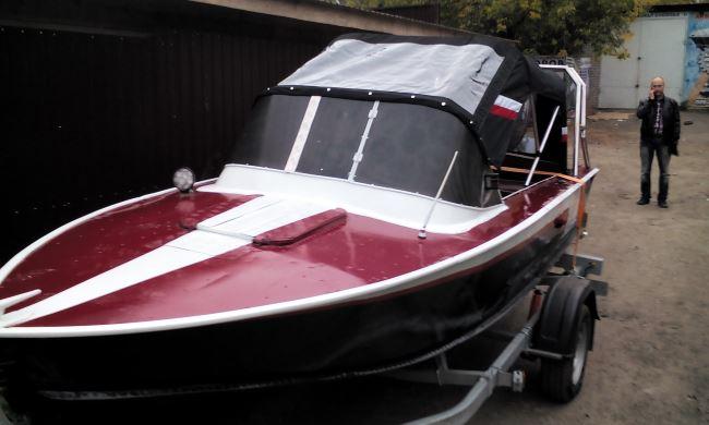 лодка Прогресс 4 технические