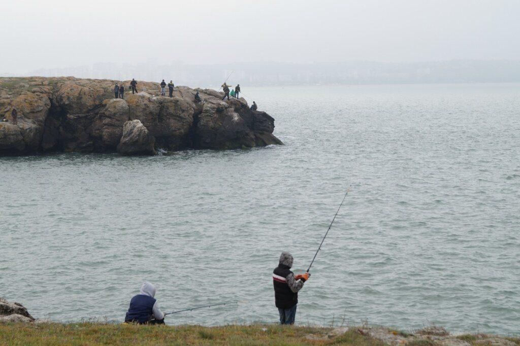 Ловля рыбы на Азовском море