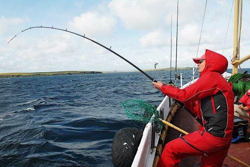 Морская рыбалка в Англии