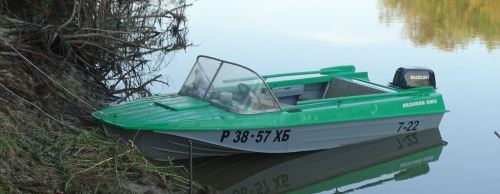 Моторная лодка Казанка 5М3