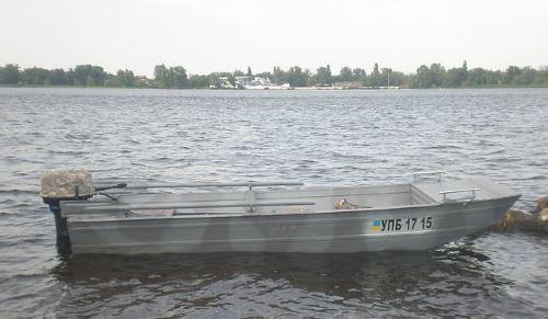Мотолодка модели Казанка 6М