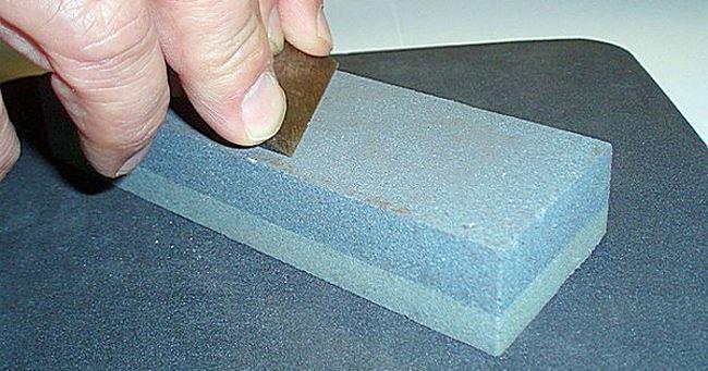 как заточить ножи для ледобура в домашних условиях