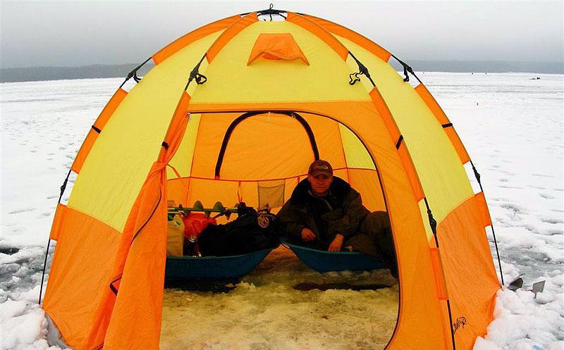 Учимся правильно выбирать зимнюю палатку