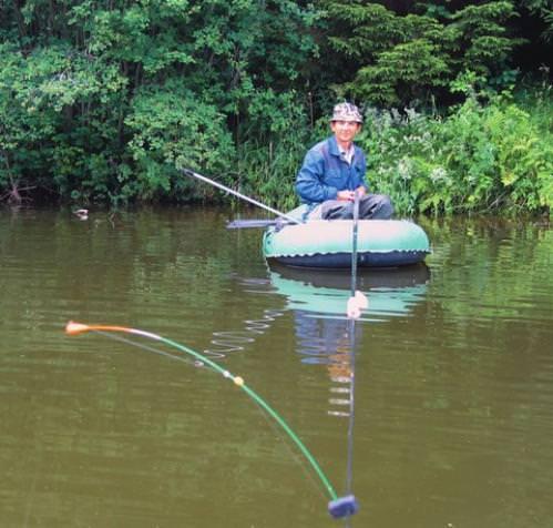 Ловля рыбы с боковым кивком